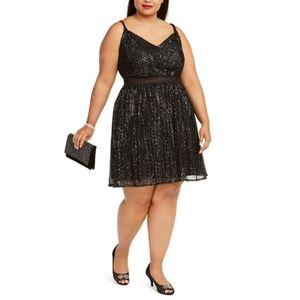⭐NWT! Macy's Sparkly Black Dress! 20W